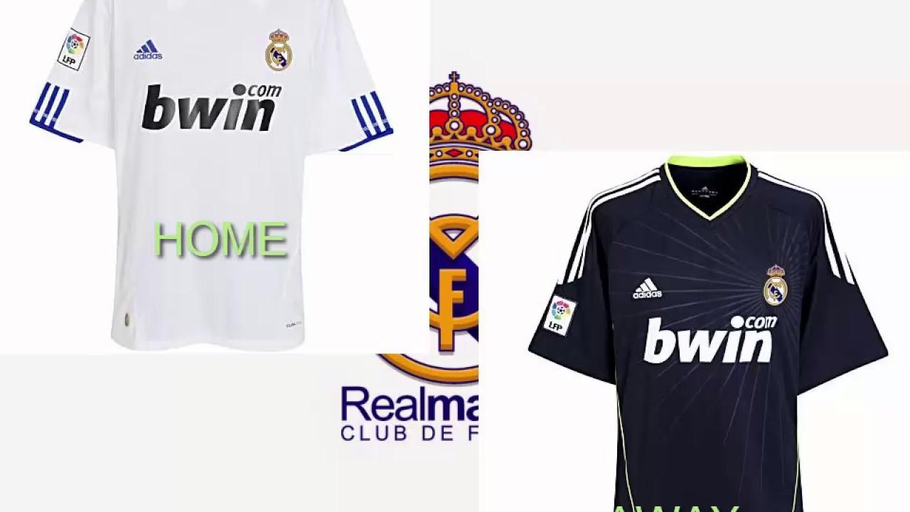 new arrivals b2d97 e8e8c REAL MADRID KIT EVOLUTION **2000-2017***
