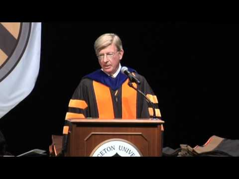 Excerpts from Princeton Graduate School Hooding 2012