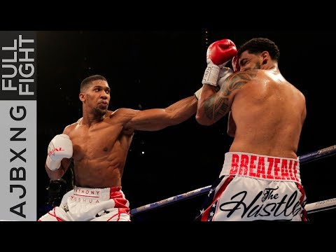 Full Fight | Anthony Joshua Vs Dominic Breazeale TKO