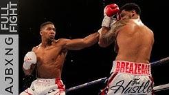 Full Fight | Anthony Joshua Vs Dominic Breazeale TKO
