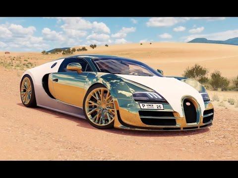 Forza Horizon 3  Dubai Gold Bugatti Veyron  Pc Youtube