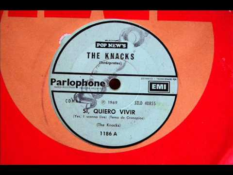 The Knacks - Sí quiero vivir (Tema de cronopios) * Parlophone EMI