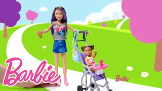 Barbie® Skipper Babysitters Inc™  Stroller and Potty Training Playsets | Barbie