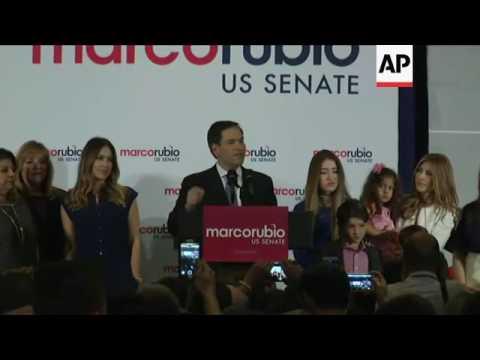 Marco Rubio Wins Re-Election to Senate