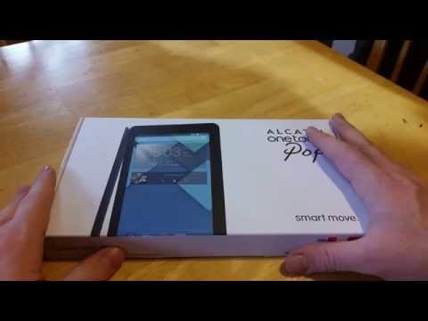 Alcatel One Touch Pop 7 Unboxing (short review)