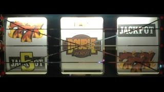 DOUBLE JACKPOT Slot Machine ✦ LONG LIVE PLAY ✦ Seneca, NY