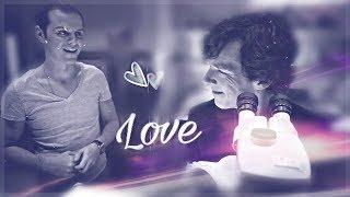 ❤ Sherlock x Moriarty    Любовь    Love ❤