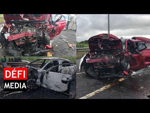 Grave accident de la route à Saint-Julien d'Hotman : bilan 1 mort et 6 blessés