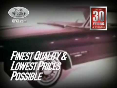 OPGI Pontiac GTO, Grand Prix and Bonneville/Catalina Restoration and  Performance Parts