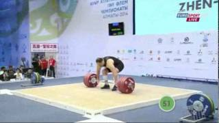 2014 World Weightlifting Championships 105+kg Men (English)