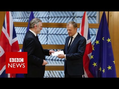 Brexit Live: Triggering Article 50 (House Of Commons)  - BBC News