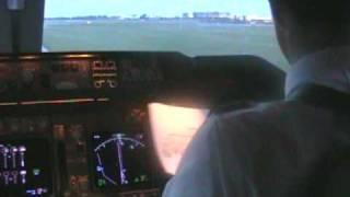 Air France 353 B747 400 F GITA Landing LFPG