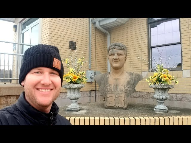 #843 LARRY BIRDs Hometown & House - FRENCH LICK, IN - Jordan The Lion Daily Travel Vlog (11/27/18)