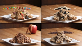 Video Homemade Chewy Granola Bars 4 Ways download MP3, 3GP, MP4, WEBM, AVI, FLV Juli 2018