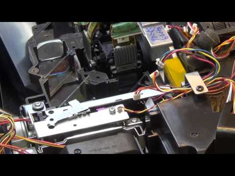 Epson Pro Cinema 6030 LCD projector tear down