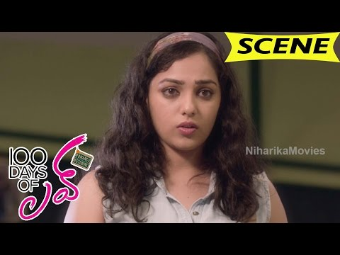 Nithya Meets Dulquer And Went Ex-Girlfriend Wedding - Comedy Scene - 100 Days Of Love Movie Scenes