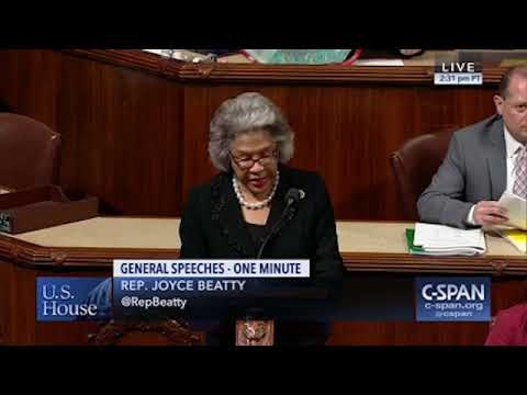 Congresswoman Beatty Calls out GOP Tax Bill on Tax Day.