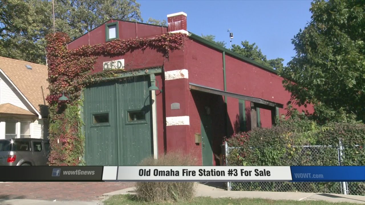 Historic omaha firehouse turned home up for sale youtube for Homes up for auction