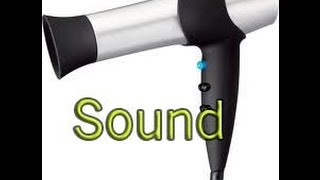 Repeat youtube video Relaxing Sound.. hairdryer and heater