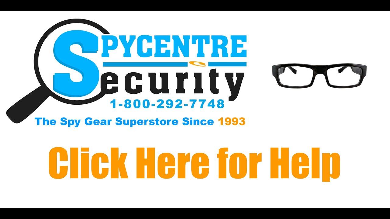 720P Spy Glasses