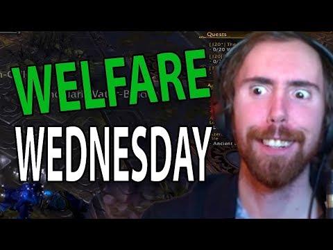 Asmongolds FIRST EVER Welfare Wednesday - BEST STREAM EVER