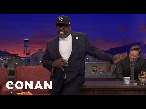 """Cedric """"The Entertainer"""" Can't Resist Dancing To Salsa Music  - CONAN on TBS"""