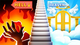I Chose between HELL OR HEAVEN in Stairway to Heaven !