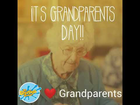 It's Grandparents Day!!