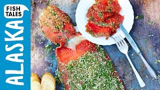 GRAVAD LAX marinated SALMON | Bart van Olphen