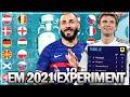 WER GEWINNT DIE EM 2021 IN FIFA 21 ? 🏆😱 | FIFA 21: Karriere Experiment