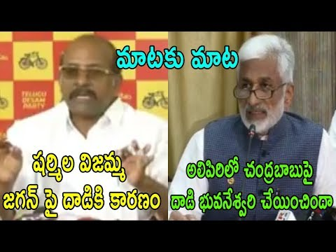 TDP MLC Yalamanchili Rajendra Prasad VS YSRCP Vijay Sai Reddy Mp | War Of Words | Cinema Politics