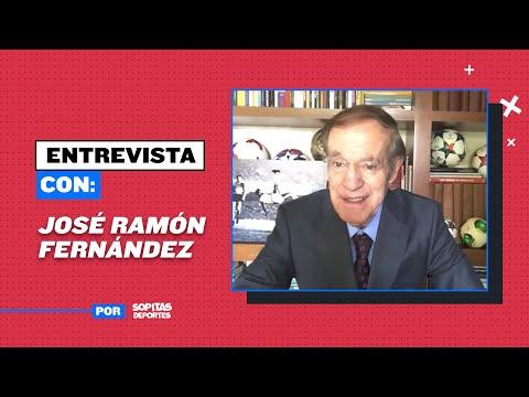 José Ramón Fernández la leyenda del periodismo deportivo se encuentra promocionando la plataforma de Edutainment