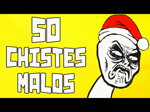 50 Chistes malos que te harán reír
