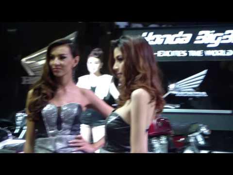 พริตตี้ สาวสวย รถมอเตอร์ไซค์ ฮอนด้า (Honda) / บิ๊ก มอเตอร์ เซลล์ (Big Motor Sale 2014)