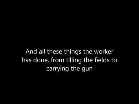 Dropkick Murphys - Worker's Song [Lyrics]