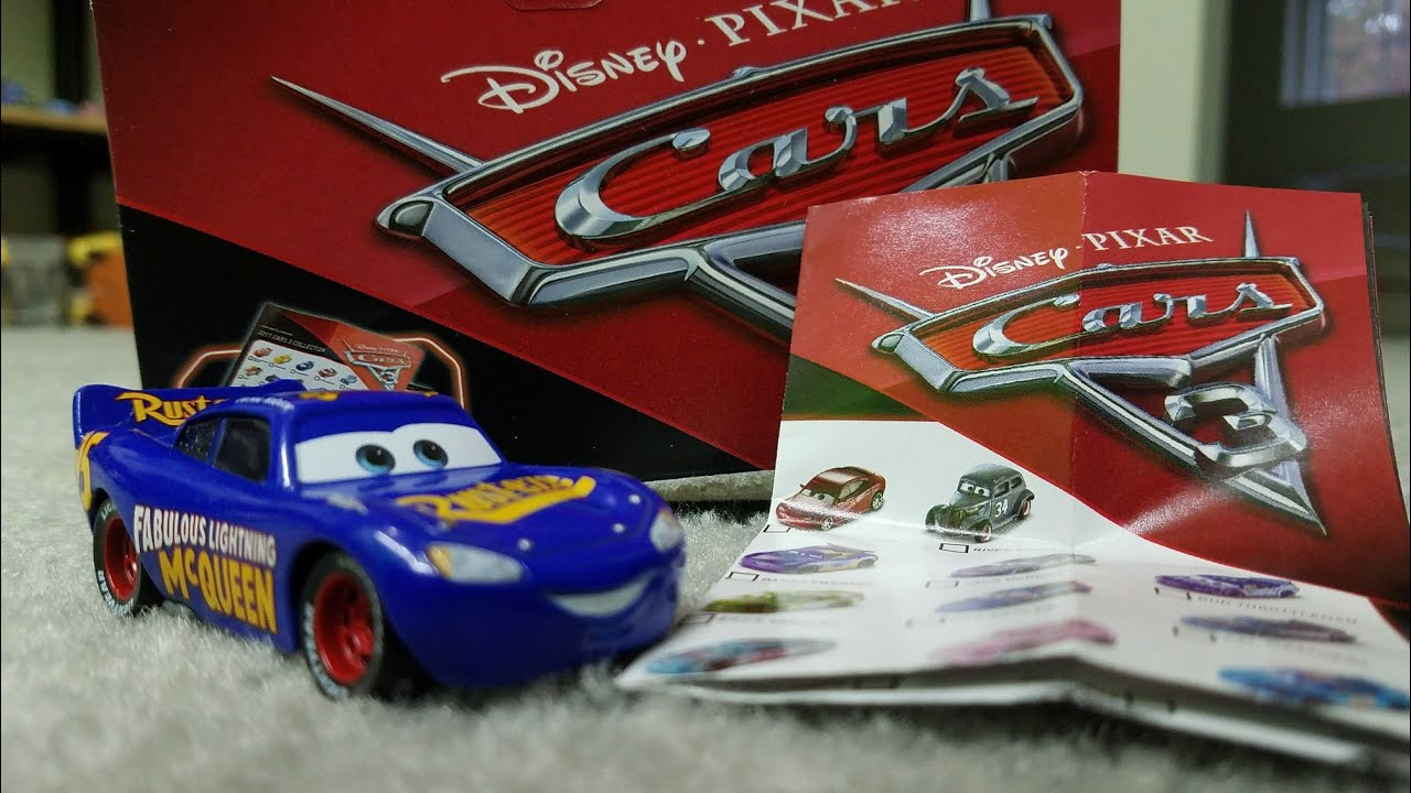 Disney Pixar Cars 3 Diecast Review Fabulous Lightning Mcqueen