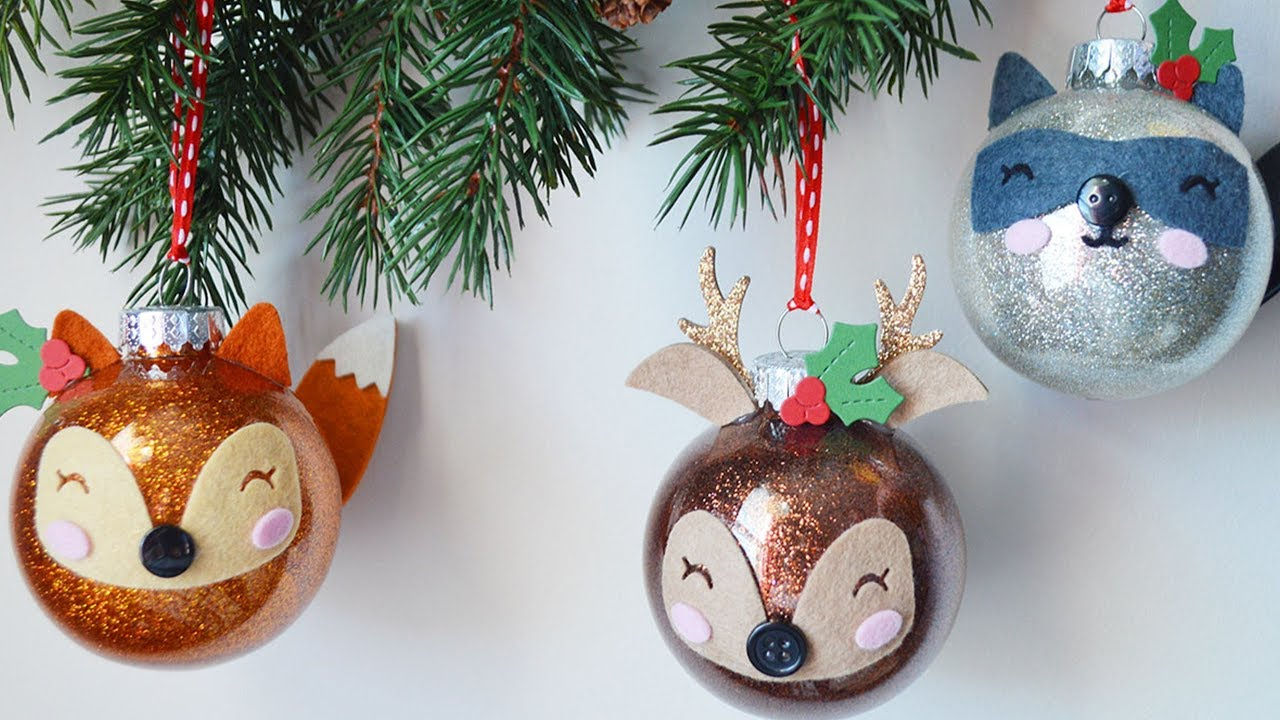 Handmade Christmas ornaments - YouTube