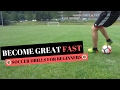 Best Soccer Skills For 8 to 10 Year Olds - Soccer Drills For Beginners
