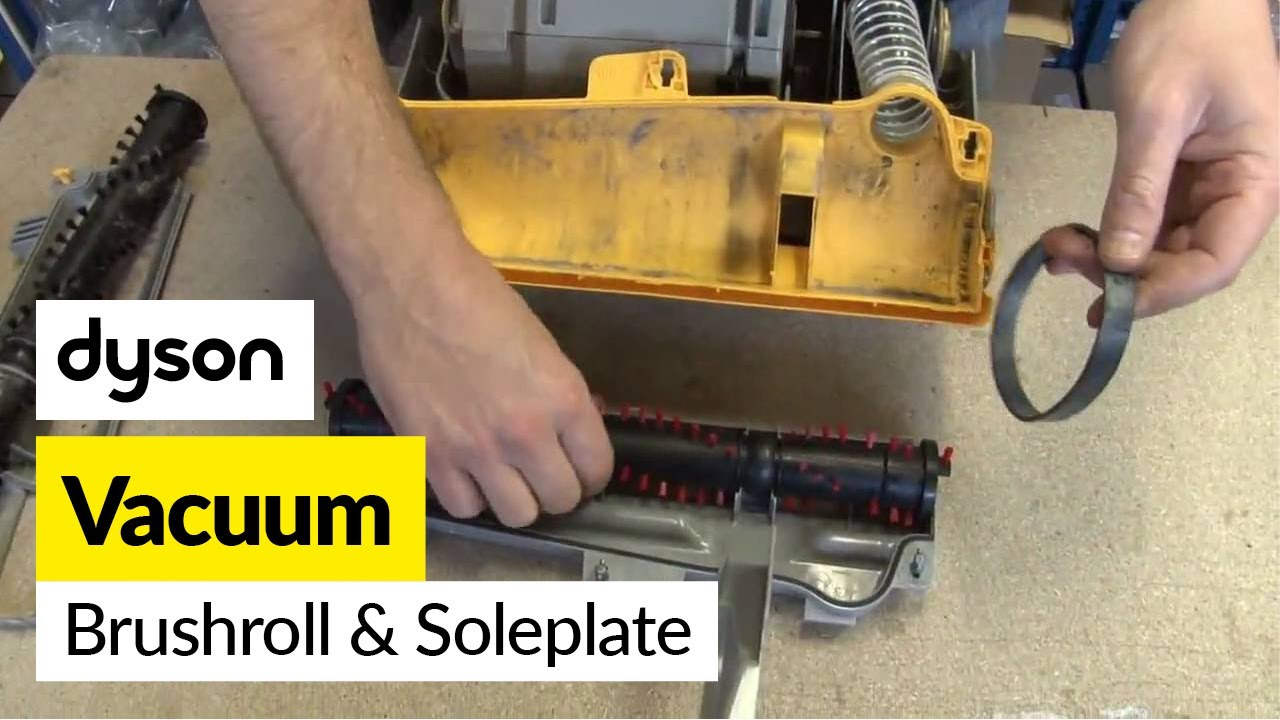 How To Replace The Dyson Brushbar And Soleplate On A Dyson