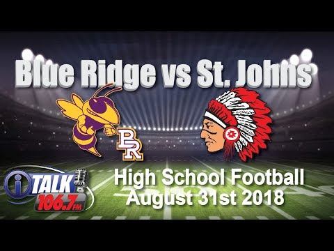 Blue Ridge vs St. Johns High School Football Full Game