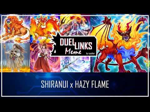 SHIRANUI X HAZY FLAME - The Flames Returned [Yu-Gi-Oh! Duel Links]