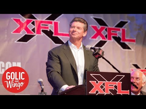 Vince McMahon looking to reboot XFL? | Golic and Wingo | ESPN