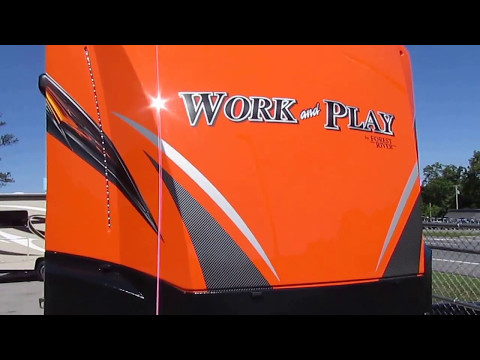 2018 New Work and Play 25 WAB , Orange, Generator, Loaded with Options, $34,900 (MSRP $45K)