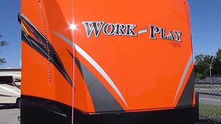 2018 new work and play 25 wab orange generator loaded with options 34900 msrp 45k