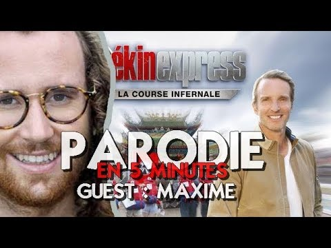 [Parodie] PEKIN EXPRESS 2018 Guest MAXIME (Episode 3)