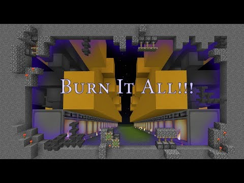 Minecraft: Tutorial 14: Super Smelter Furnace Array