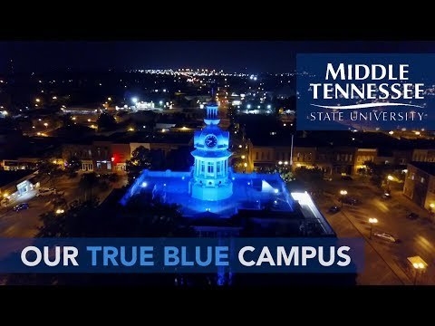 2018 MTSU Campus Tour