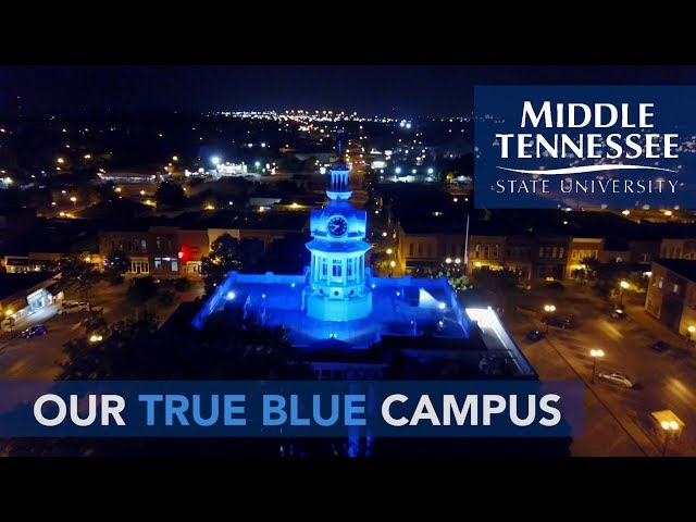 2018 MTSU Campus Tour