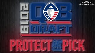 AAF QB Pick or Protect Draft part 2