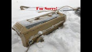 Electrolux Super J Model 1401 Vacuum Apology
